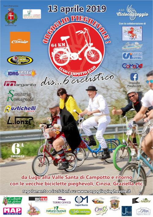 Orgoglio Pieghevole Una Pazza Manifestazione Ciclistica In Graziella